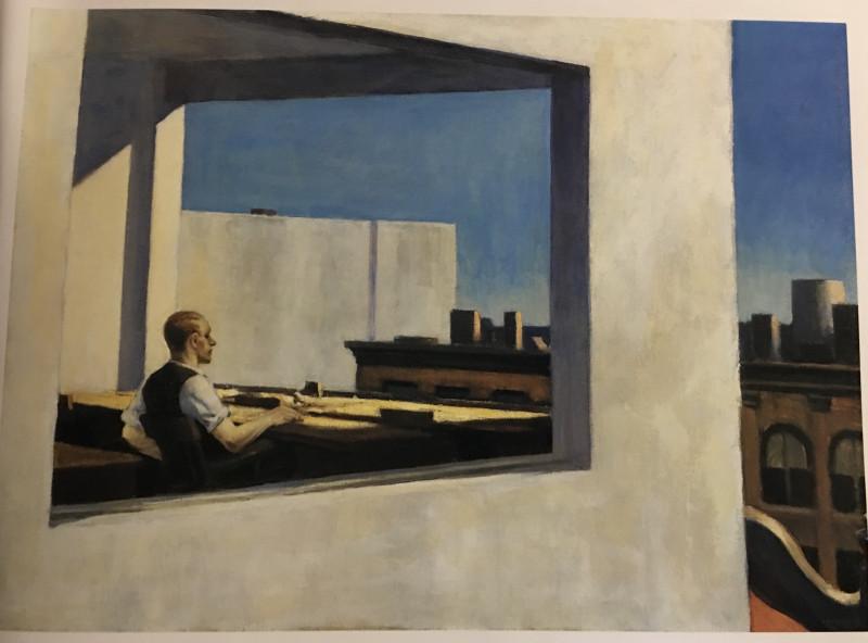 看看画 - Edward Hopper