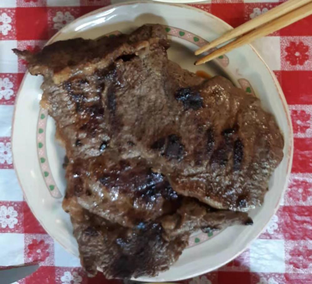 懒人菜谱:干煎牛排