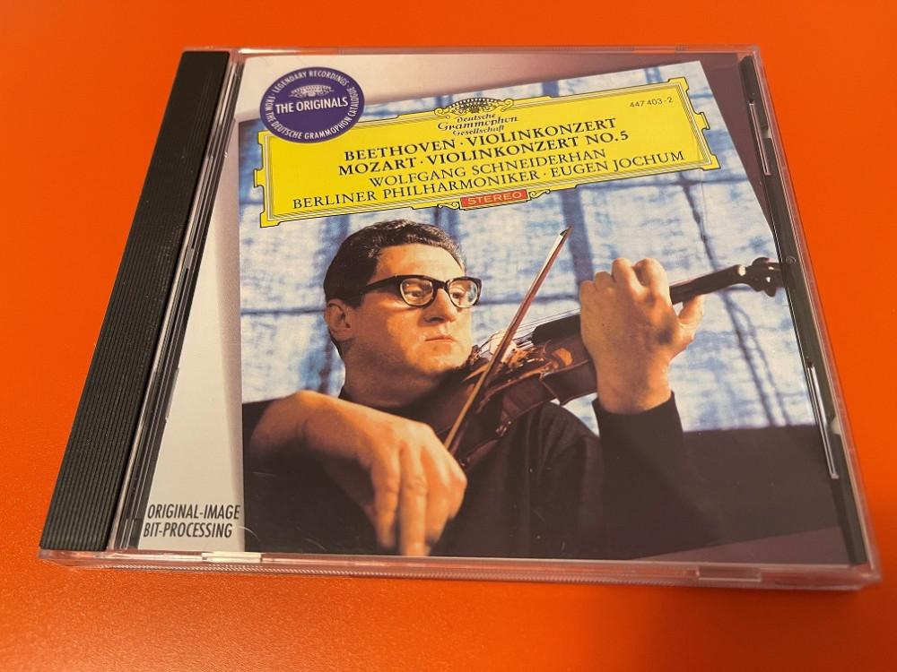 2021年6月1日 贝多芬 小提琴协奏曲 / 莫扎特 第五小提琴协奏曲(Wolfgang Schneiderhan)