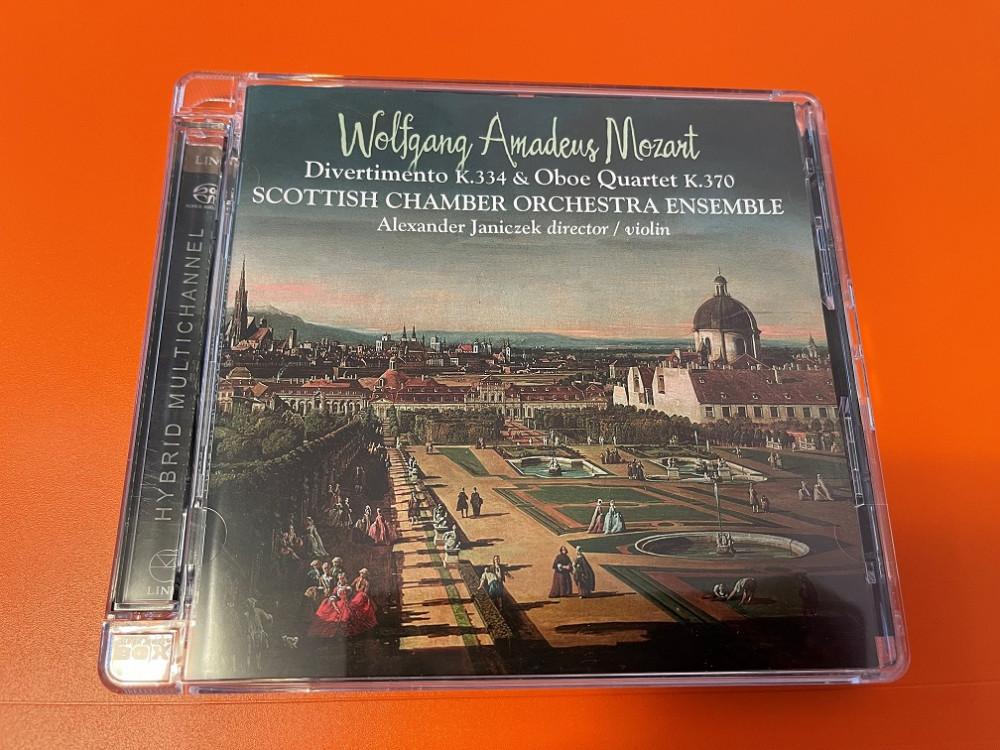 2021年6月17日 莫扎特 D大调进行曲,第十七嬉游曲,F大调双簧管和弦乐四重奏 (Alexander Janiczek)