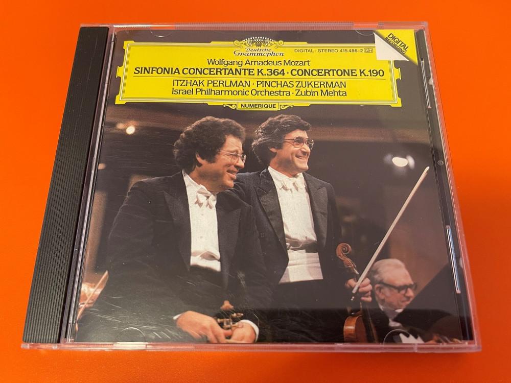 2021年6月25日 莫扎特 交响协奏曲(Perlman / Zukerman / Zubin Mehta)