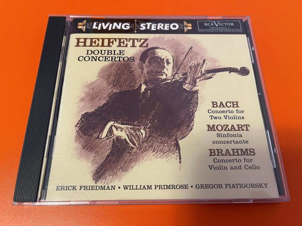 2021年7月3日 巴赫双小提琴协奏曲 / 莫扎特小提琴和中提琴交响协奏曲 / 布拉姆斯小提琴和大提琴协奏曲(Heifetz)