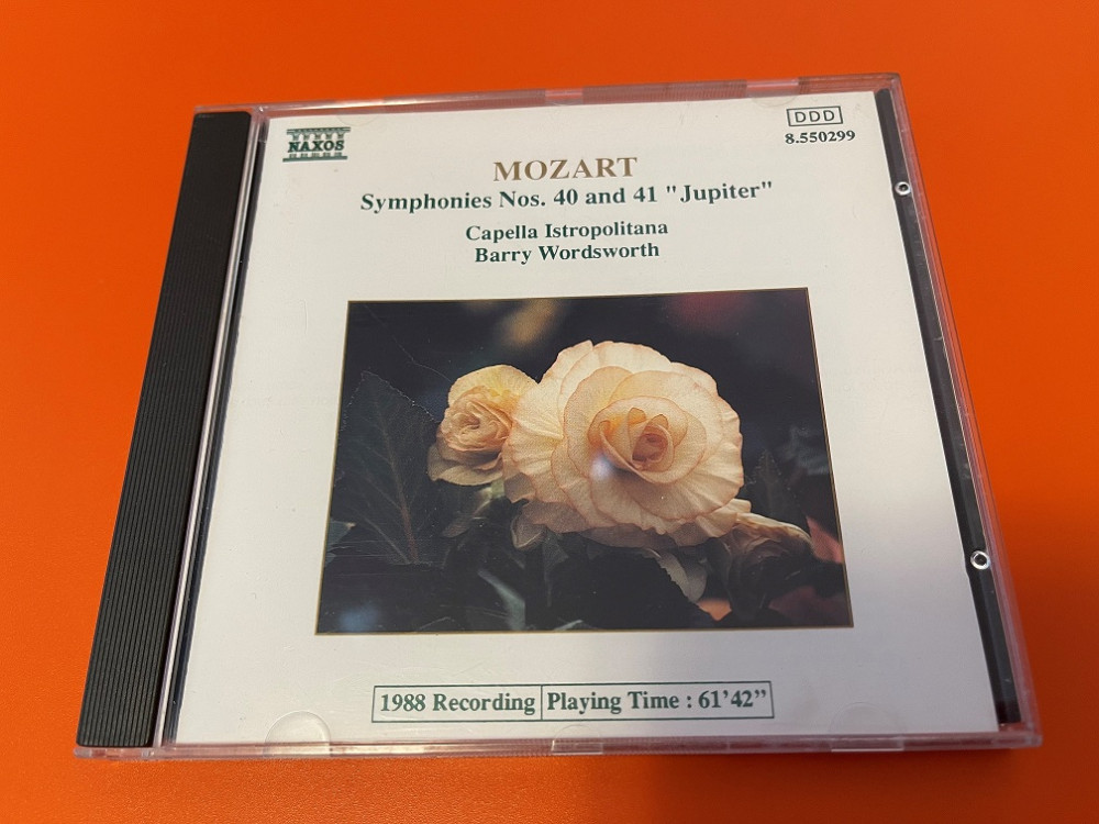 2021年7月6日 莫扎特 第四十 / 第四十一 交响曲(Barry Wordsworth)