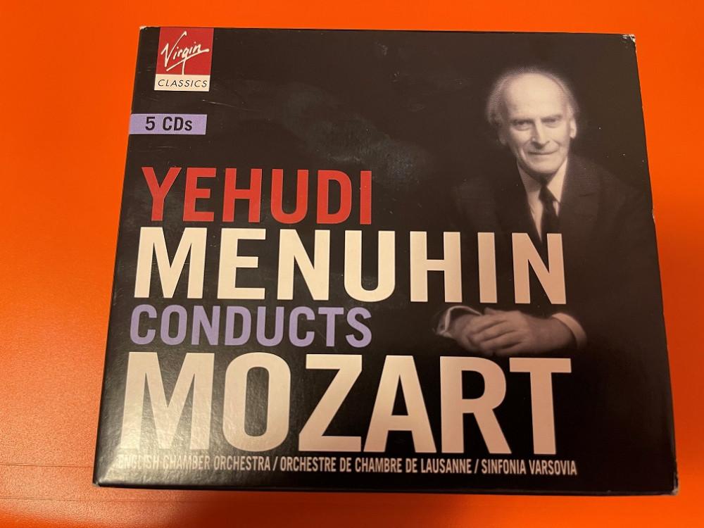 2021年7月7日 耶胡迪·梅纽因 指挥的莫扎特作品(Yehudi Menuhin)I