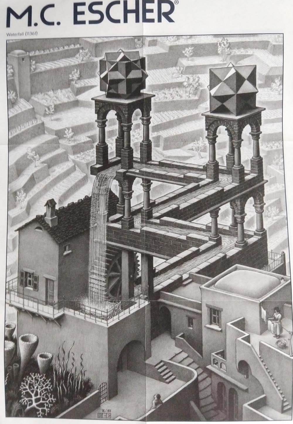 看看画 - M. C. Escher