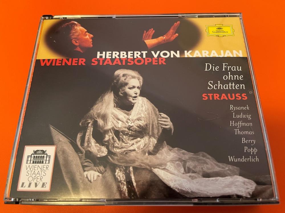 2021年9月7日 理查·斯特劳斯《没有影子的女人》II(Karajan / Wiener Staatsoper)