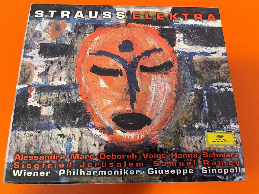 2021年9月8日 理查·斯特劳斯《艾莱克特拉》I(Sinopoli / Wiener Philharmoniker)