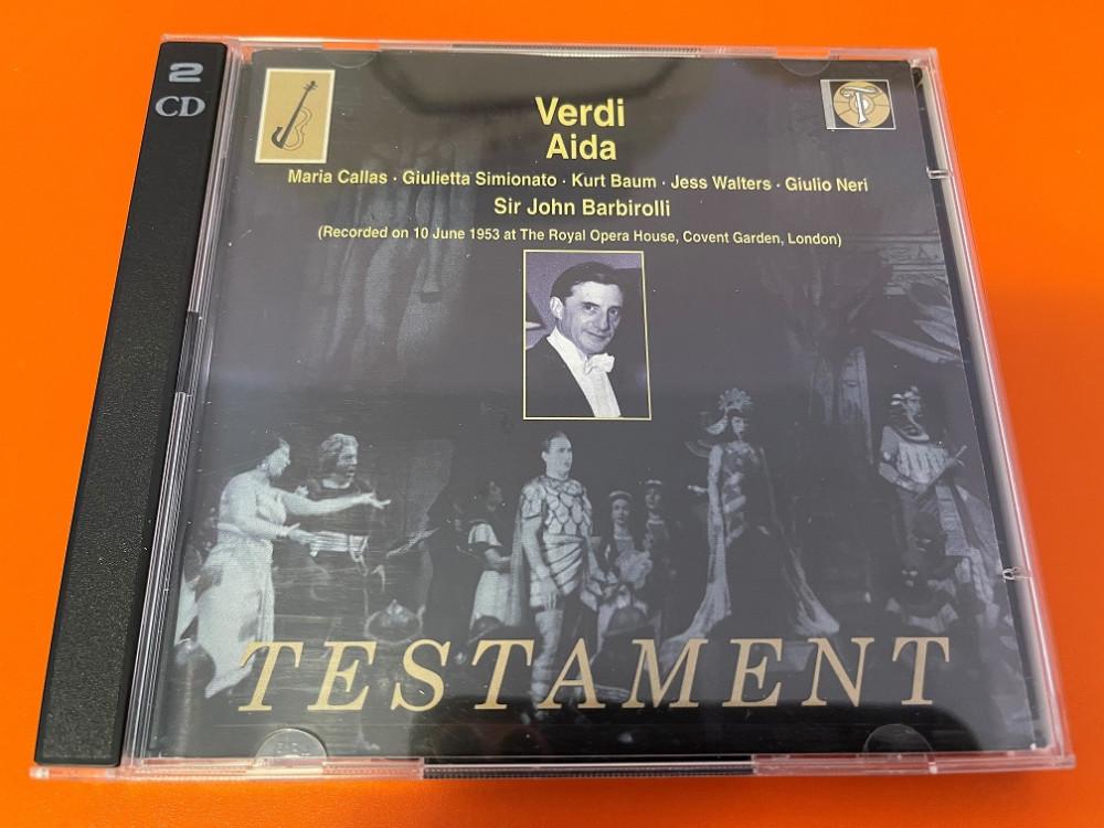 2021年9月25日 威尔第歌剧《阿依达》VI (Barbirolli / Callas / Simionato)